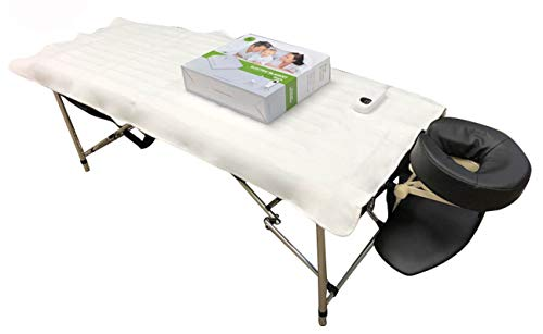 DevLon NorthWest Massage Table Warmer Pad Digital Heat Settings Digital Timer Portable Auto Overheat Protection (Massage Table Warming Pad)