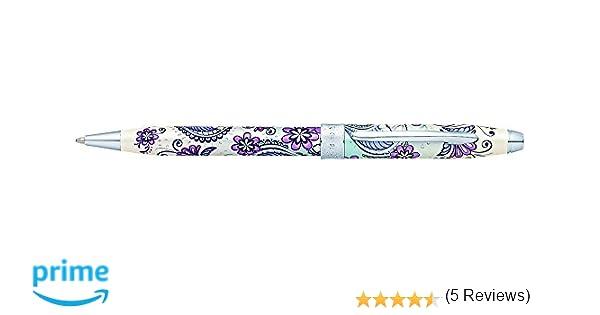 Cross AT0642-2 Botánica - Bolígrafo, Purple Orchid: Amazon.es: Oficina y papelería