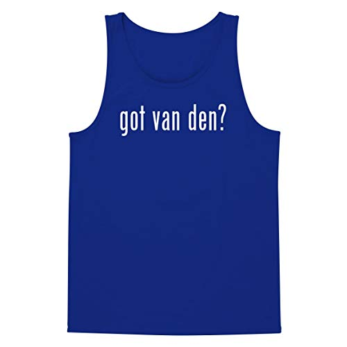 Toren Van - got Van den? - A Soft & Comfortable Men's Tank Top, Blue, XX-Large