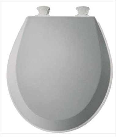 Bemis 500EC062 Molded Wood Round Toilet Seat With Easy Clean and ...