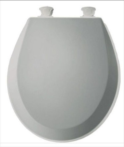 easy home toilet seat. Bemis 500EC062 Molded Wood Round Toilet Seat With Easy Clean And Change  Hinge Ice Grey Amazon Com
