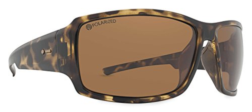 Dot Dash Unisex Exxellerator Polarized Sunglasses, Tortoise w/ Bronze Poly, - Pin Glasses Dot