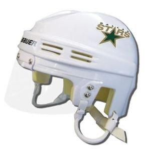 NHL Dallas Stars Replica Mini Hockey Helmet Dallas Stars Mini Hockey Helmet