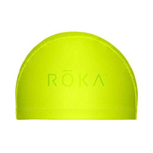 ROKA Thermal PU-Coated Nylon Swimming Cap - Acid - Roka Swim