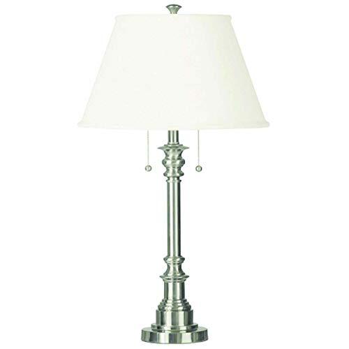 Kenroy Home 30437BS Spyglass Table Lamp, Brushed Steel