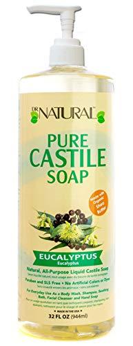 (Dr. Natural Pure-castile Liquid Soap, Eucalyptus, 32 Ounce)