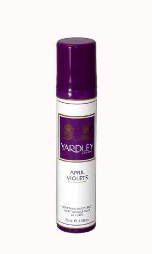 Yardley Of London Refreshing Body Spray For Womens, 2.6 Ounce