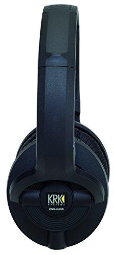 KRK KNS 6400 On-Ear Closed Back Circumaural Studio Monitor Headphones by KRK (Image #2)