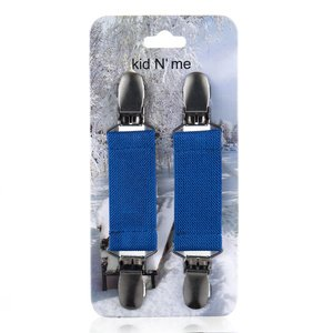 Kid n Me Extra Strong Mitten Clips Stainless Steel Flexible Elastic Reliable Grip Strength Versatile Keeper