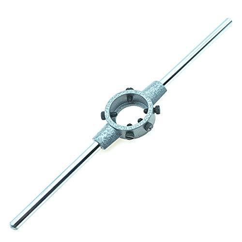 MIKIKI 38mm 1-1/2'' (M12-14) Round Die Stock Handle Wrench, Die holder by MIKIKI