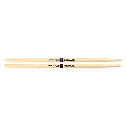 Promark American Hickory Classic 5A Drumsticks, Oval Tip, Single Pair