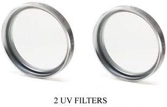 JVC GZ-MG630S GZHM200B JVC GZMG630S GZMG630SU JVC GZMS120AUS Two UV Filters for JVC GZMS100