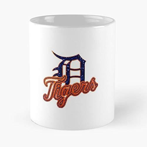- Detroit Tiger Baseball Fan - Morning Coffee Mug Ceramic Best Gift