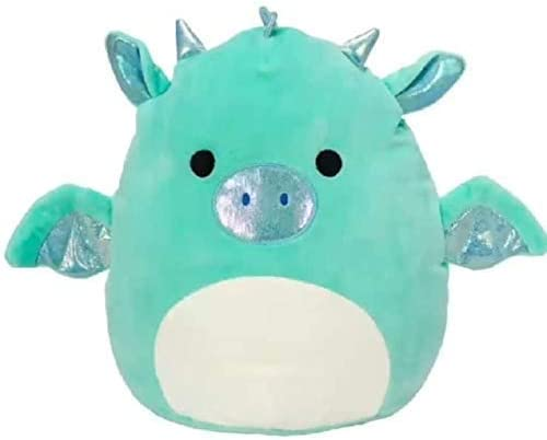 Squishmallow New Kellytoy 8 Inch Miles The Dragon- Super Soft Plush Toy Animal Pillow Pal Pillow Buddy Stuffed Animal Birthday Gift Holiday
