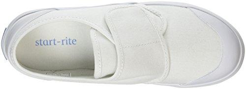 Start Rite Skip - Zapatillas de Deporte de tela Infantil Blanco - Blanc (White Canvas)