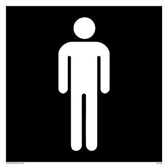 Viking Signs DV1027-S15-V Male Toilet Symbol - Toilet Door Sign Negative  sc 1 st  Amazon UK & Viking Signs DV1027-S15-V Male Toilet Symbol - Toilet Door Sign ...