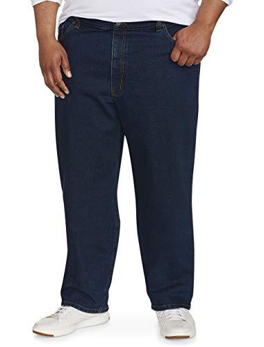 Amazon Essentials Men's Big & Tall Relaxed-Fit Stretch Jean, Medium Wash 46W x 28L