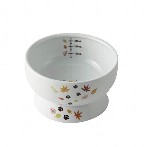 Necoichi Raised Cat Water Bowl (Leaf Limited Edition, ()