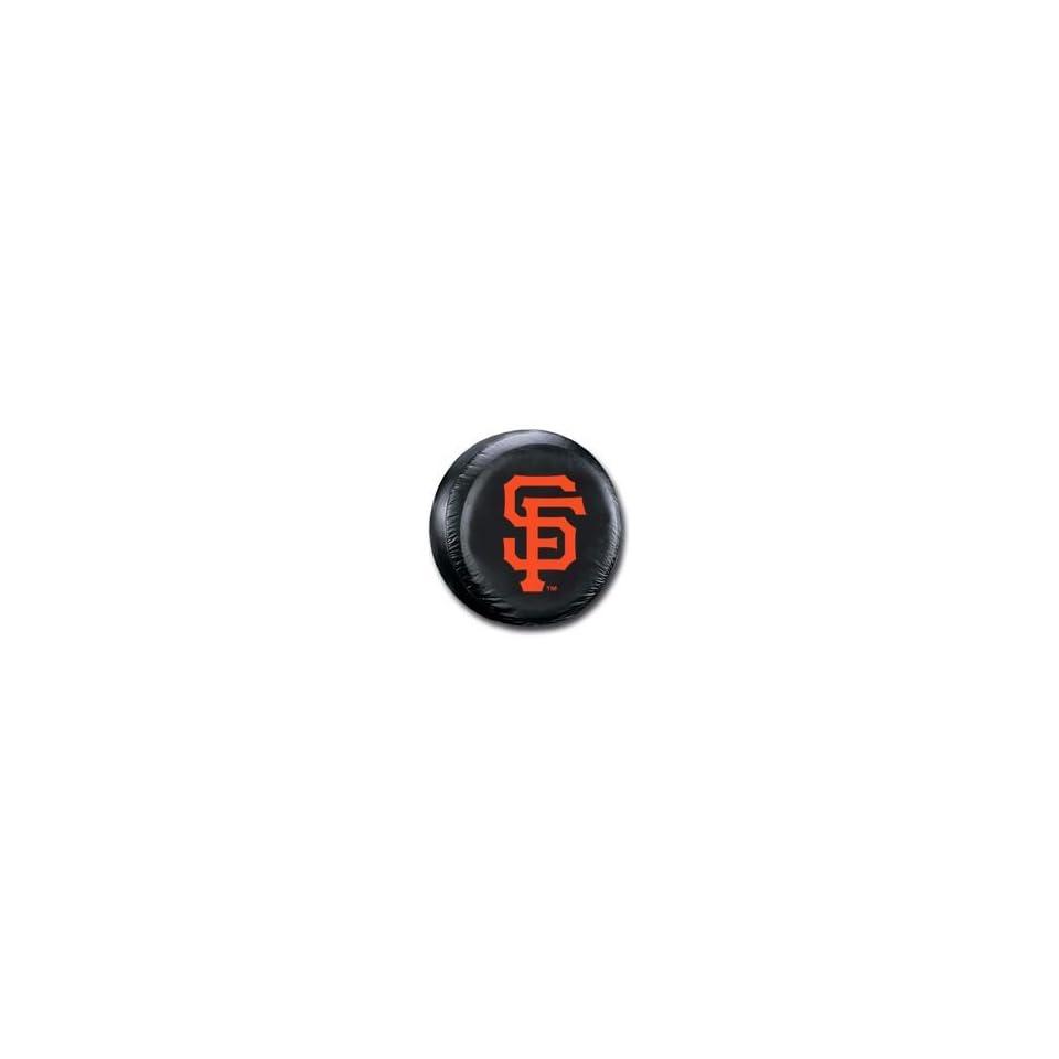 San Francisco Giants MLB Black Spare Tire Cover