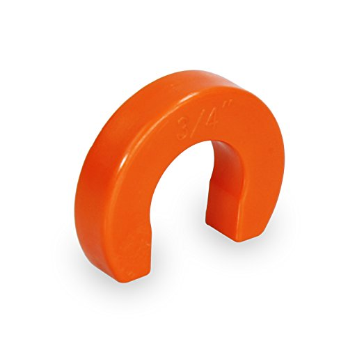 """Pushlock UPTR012 Removal Tool for Push Fittings 1/2 Inch Lightweight & Durable Plastic Construction, 1/2"""", Orange"""