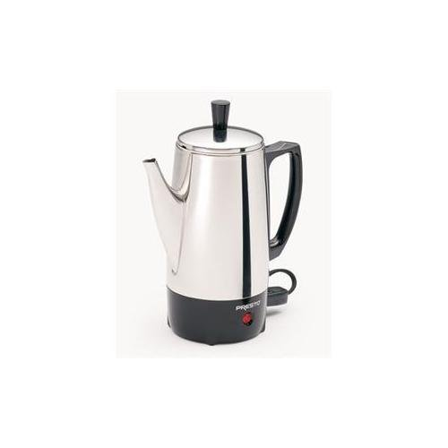 6 Cup SS Coffee Maker by Presto