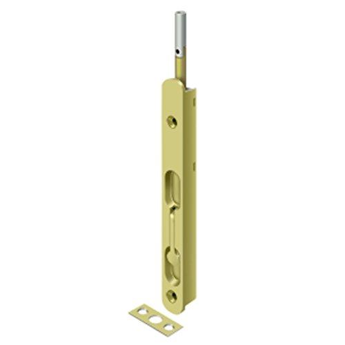 Deltana Polished Bolt - Deltana 18EFBZ3 Flush Bolt Polished Brass