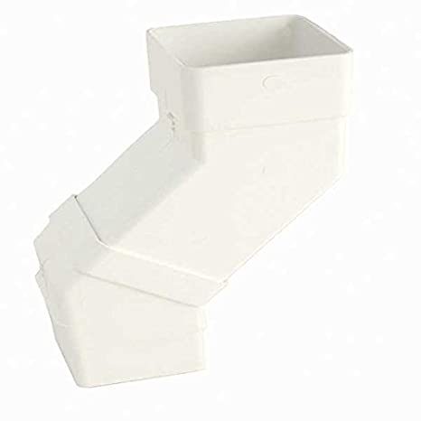 Select individual parts as required SQUARE DOWNPIPE PIPE BRACKET 65mm HUNTER Squareflo 114mm guttering components /…