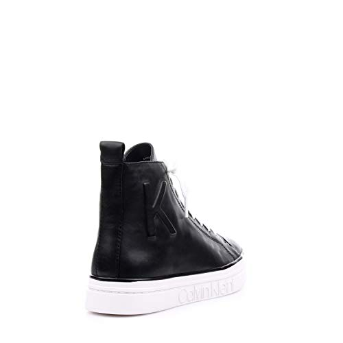 Nero Inverno Sneaker Calvin Pelle Alta Klein Autunno qnR74w