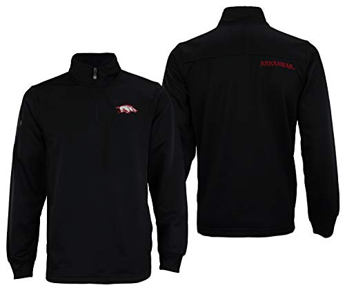 Outerstuff NCAA Men's Fan Basic 1/4 Zip Track Jacket, North Carolina Tar Heels X-Large