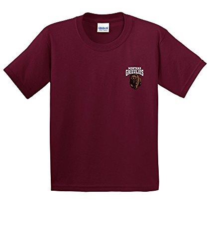 NCAA Montana Grizzlies Youth Cheer Loud Short Sleeve Cotton T-Shirt, ()
