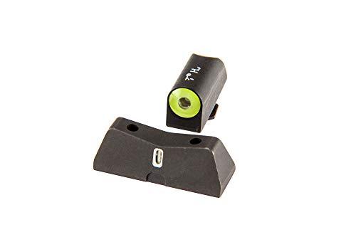 XS Sights DXT2 Big Dot Night Sight for Glock Pistols (Glock 42, 43, 43X, 48, Yellow)