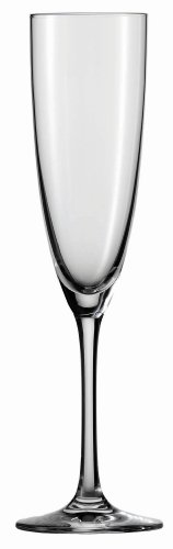 Schott Zwiesel Tritan Crystal Glass Classico Stemware Collection Tall Champagne Flute, 7.1-Ounce, Set of 6 (Tall Flute)