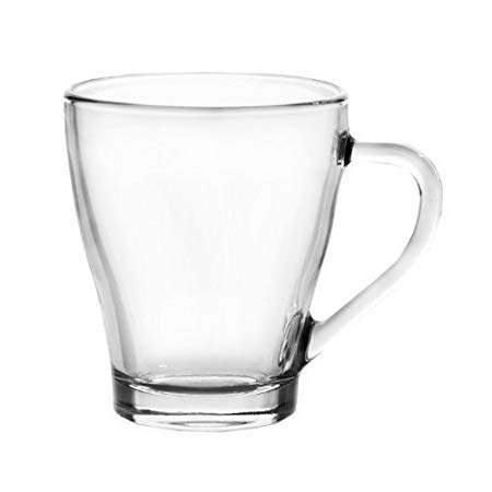 Ducati Posh Collection Glass Mug Set  Transparent    2 Pieces