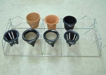 富貴蘭用 置き掛け枠 10個掛け 3.0-3.5号用