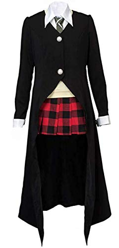 Soul Eater Halloween Costumes (NSOKing Women's Soul Eater Cosplay Maka Albarn Cosplay Uniform Halloween Outfit Costume (Womens-M,)