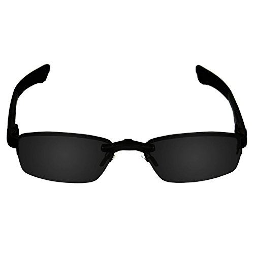 8b0648e5f5 Custom Fit Polarized CLIP-ON Sunglasses For Oakley Double Tap OX3123 53X18  Black