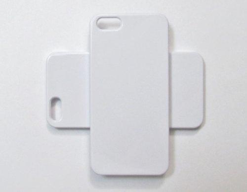 eaddc5bd0fb5 Amazon.com  Leegoal DIY White Hard Snap-on Cover Case for Apple ...