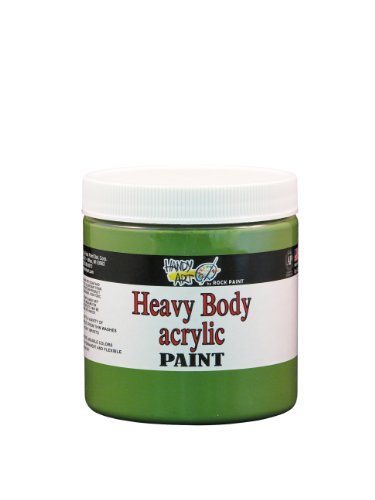 Handy Art Nu Master Heavy Body Acrylic Paint 8 ounce, Chrome Green Oxide]()