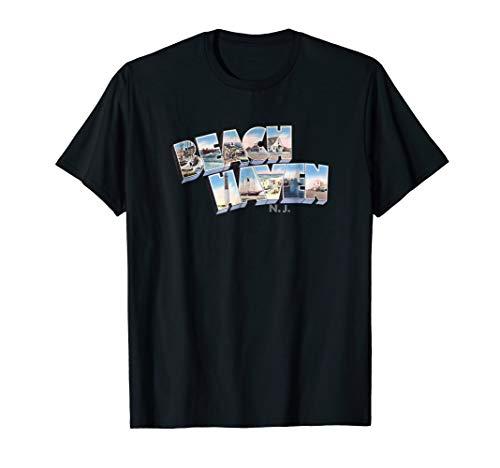 Beach Haven New Jersey Shirt NJ Retro Vintage TShirt