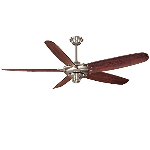 Home Decorators Collection Altura 68 inch indoor brushed nickel ceiling fan With remote control