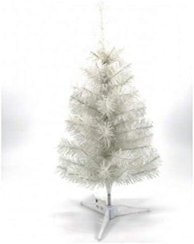 Xodo Store Albero di Natale Bianco Altezza 50 cm con piedistallo
