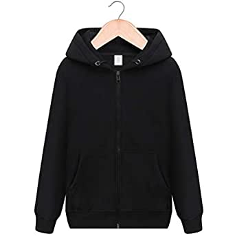 Mens Hoodies fleece zipper thickening sports blank baseball uniform Cotton Warm-up Top (Color : Black, Size : S)