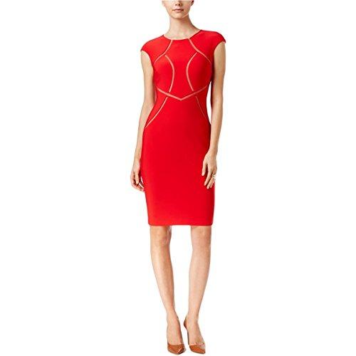 Inset Sheath Dress - 3