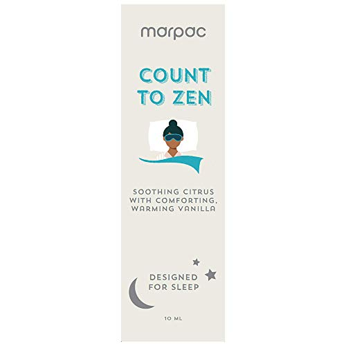 Marpac Yogasleep |Count to Zen (Citrus Vanilla) | Natural Essential Oil Blend for Sleep & Relaxation | Premium Aromatherapy Sleep Scent Diffuser Oil | 10 ml