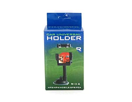 Amazon.com: Universal Car Mount Photo Holder for MP3/MP4/Mobile/GPS/PDA (Black): Car Electronics