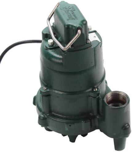 0.5 HP Zoeller Model BN153 Dose Mate High Head Effluent Pump w//Piggyback Switch