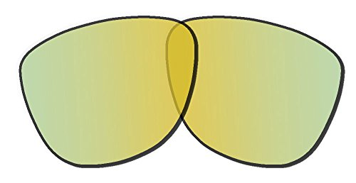 Oakley Frogskins Replacement Lenses 24K Iridium - Frogskin Lenses Replacement Oakley