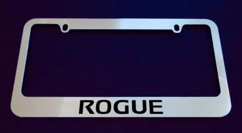 Nissan Rogue Chrome License Plate Frame (Nissan License Plate Frame)