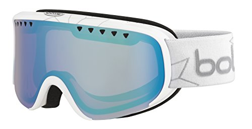 Bolle Scarlett Shiny Edelweiss Polarized Aurora Googles, White, One - Bolle Goggles Scarlett