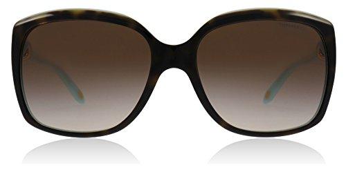 Tiffany 4076 81343B Tortoise TF4076 Cats Eyes Sunglasses Lens Category 3 Size ()
